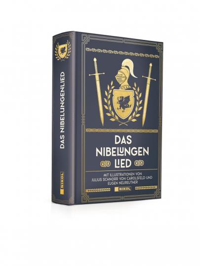 Das Nibelungenlied. Illustrierte Ausgabe.