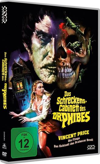 Das Schreckenskabinett des Dr. Phibes. DVD.
