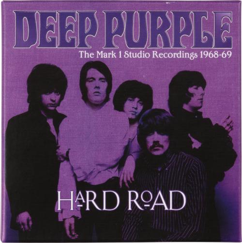 Deep Purple. Hard Road: The Mark 1 Studio Recordings 1968 - 69. 5 CDs.