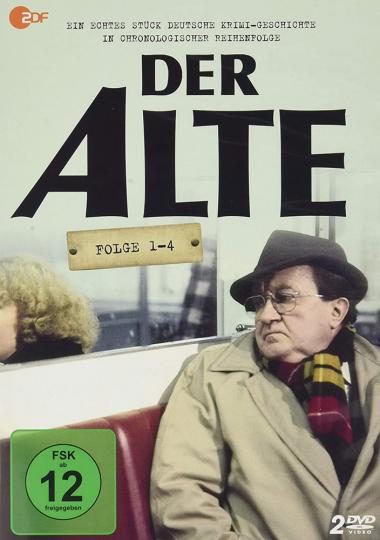 Der Alte (Folge 1-4). 2 DVDs.