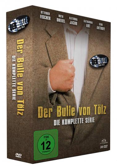 Der Bulle von Tölz (Komplettbox). 36 DVDs.