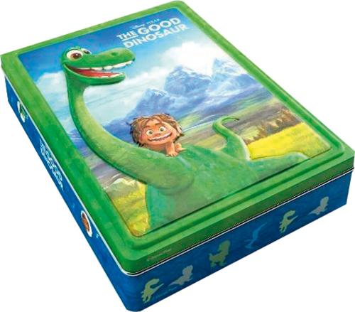 Der gute Dinosaurier. Box mit Stickern, Markern und Malbuch.