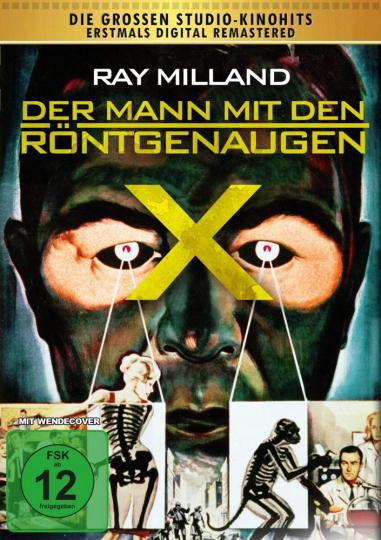 Der Mann mit den Röntgenaugen. DVD.