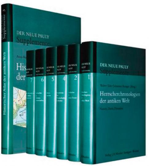 Der Neue Pauly. Supplemente, 1. Staffel, Band 1 - 7.