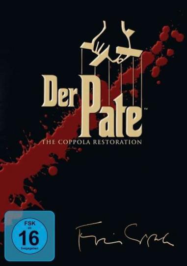 Der Pate I-III (The Coppola Restoration). 3 DVDs.