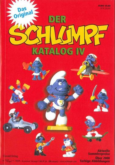 Der Schlumpfkatalog IV. Preiskatalog für Schlumpfsammler.