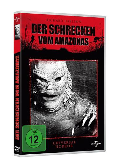 Der Schrecken vom Amazonas. DVD.