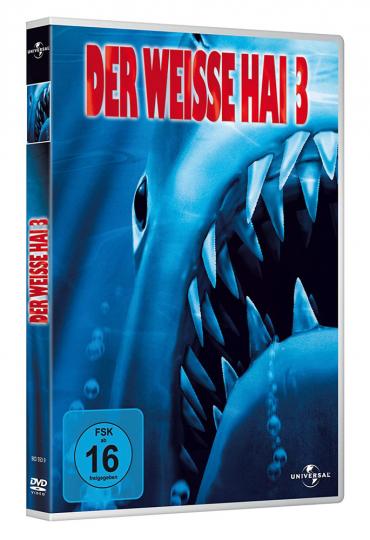 Der weiße Hai III. DVD.