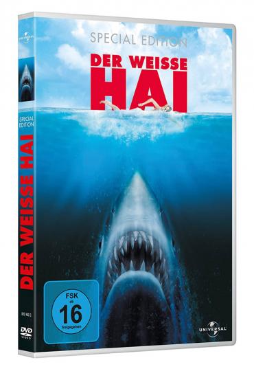 Der weiße Hai Teil 1-3. 3 DVDs.