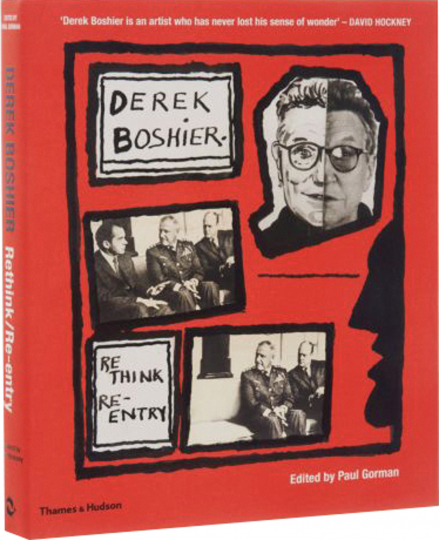 Derek Boshier. Re-Think - Re-Entry. Monografie.