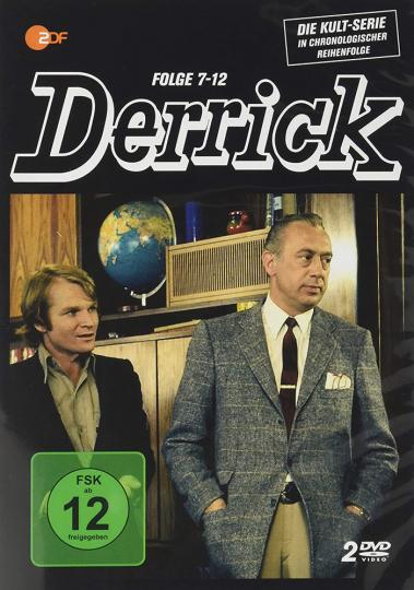 Derrick-Folgen 7-12. 2 DVDs.