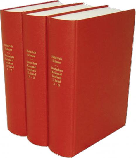 Deutsches Koloniallexikon 3 Bände
