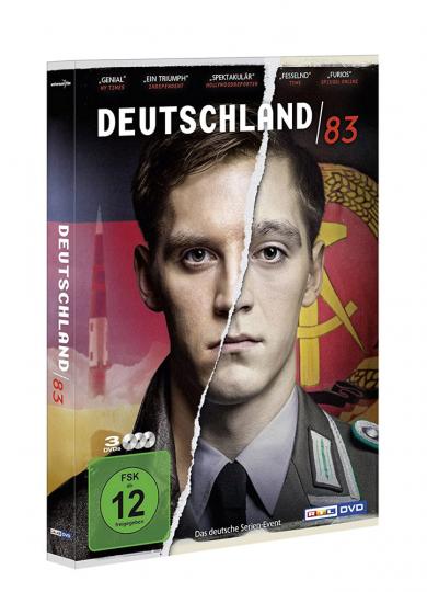 Deutschland 83. 3 DVDs.