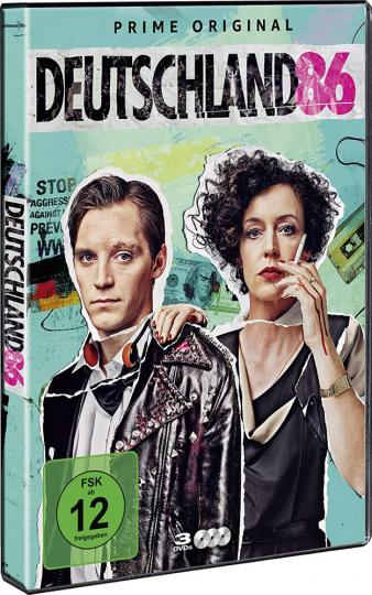 Deutschland 86. 3 DVDs.