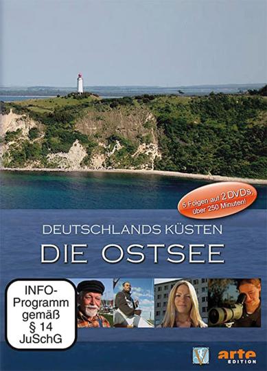 Deutschlands Küsten. Die Ostsee. arte-Edition. 2 DVDs.