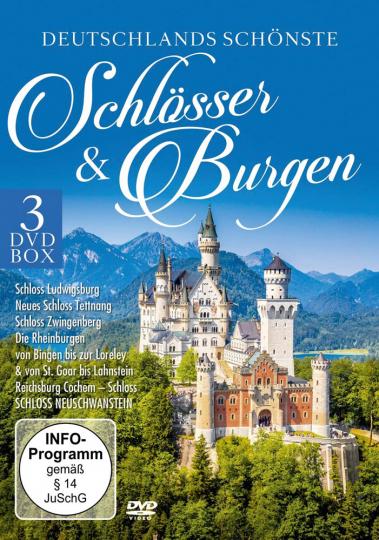 Deutschlands schönste Schlösser & Burgen. 3 DVD Box