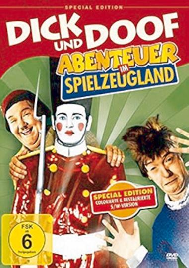Dick & Doof - Abenteuer im Spielzeugland DVD