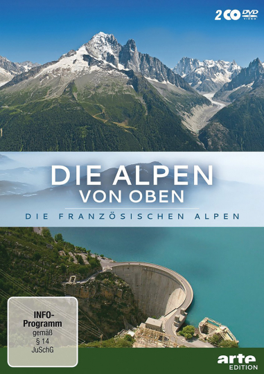 Die Alpen von oben - Die französischen Alpen 2 DVDs