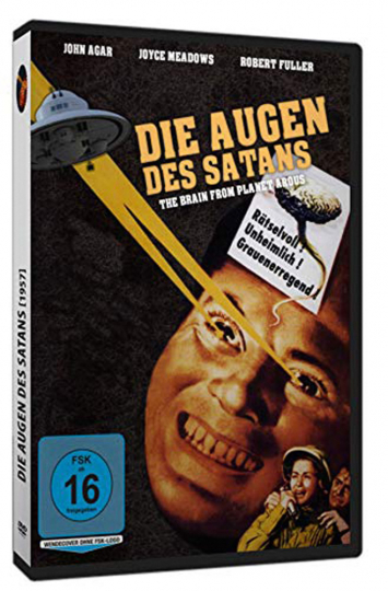 Die Augen des Satans. DVD.