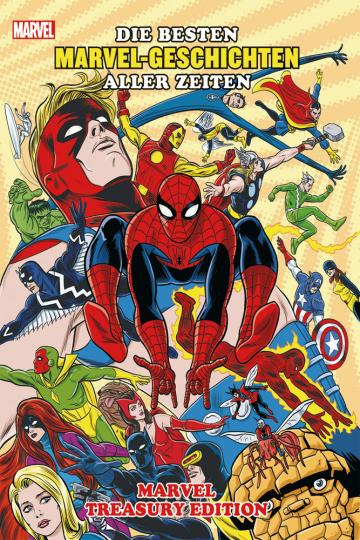 Die besten Marvel-Geschichten aller Zeiten. Marvel Treasury Edition.