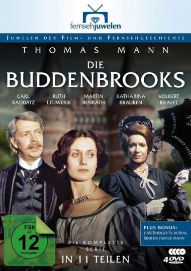 Die Buddenbrooks (Komplette Serie). 4 DVDs.