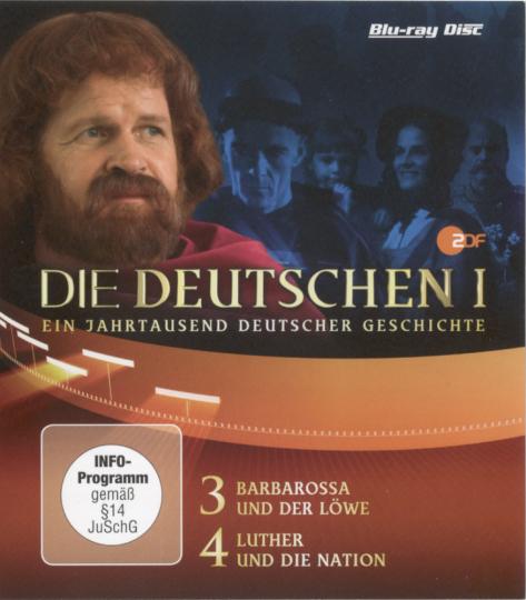 Die Deutschen. Staffel 1, Episode 3 & 4. Blu-ray.