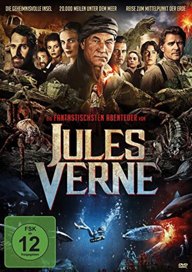 Die fantastischsten Abenteuer des Jules Verne. 4 DVDs.