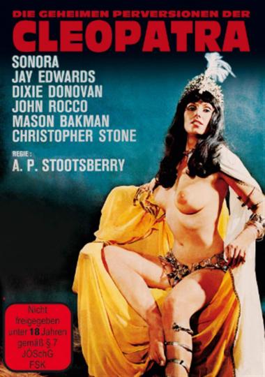 Die geheimen Perversionen der Cleopatra. DVD.