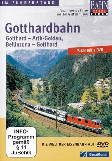 Die Gotthardbahn 2 DVDs.