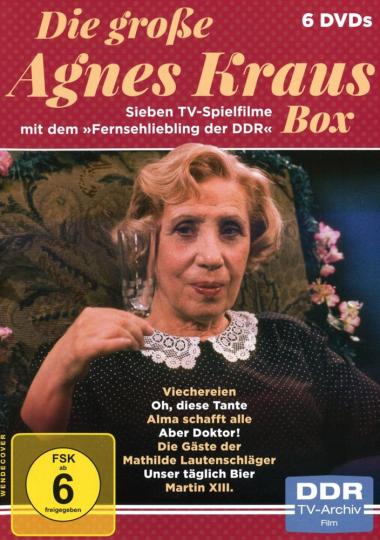 Die große Agnes Kraus Box. 6 DVDs.