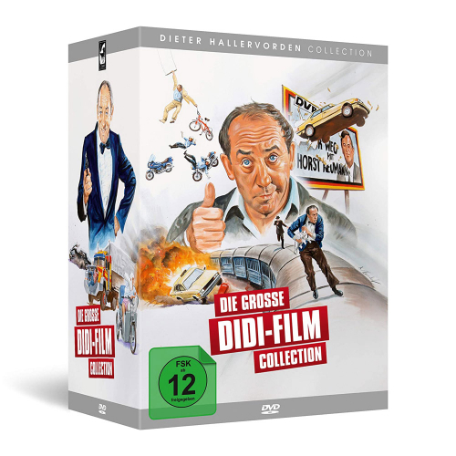 Die große Didi-Film Collection. 7 DVDs.