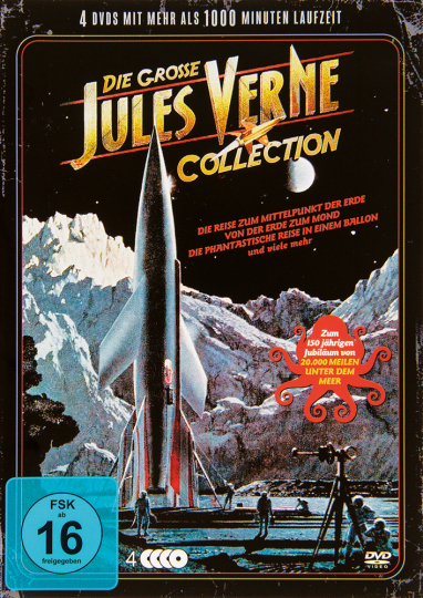 Die große Jules Verne Collection. 4 DVDs.