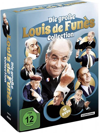 Die große Louis de Funès Collection 16 DVDs