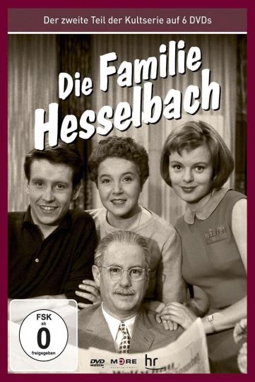 Die Hesselbachs: Die Familie Hesselbach (Teil 2 der Kultserie). 6 DVDs.