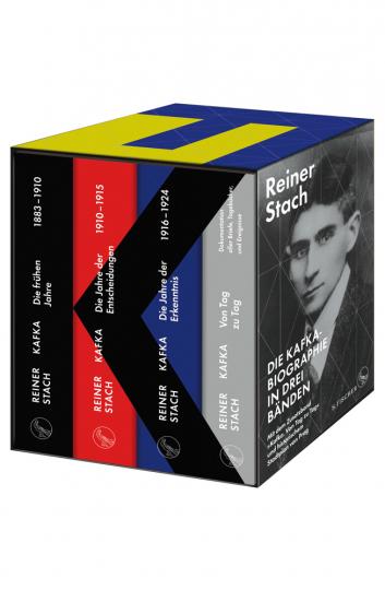 Die Kafka-Biographie in drei Bänden. Limitierte Gesamtausgabe im Schuber. Mit dem Zusatzband »Kafka von Tag zu Tag. Dokumentation aller Briefe, Tagebücher und Ereignisse« und einem historischen Stadtplan von Prag.