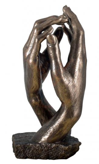 Die Kathedrale v. Auguste Rodin