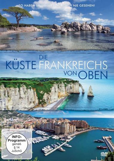 Die Küste Frankreichs von oben. DVD