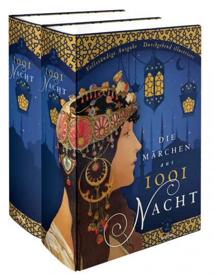 Die Märchen aus 1001 Nacht. Vollständige Ausgabe. 2 Bände.