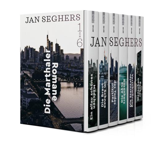Die Marthaler-Romane. 6 Bände.