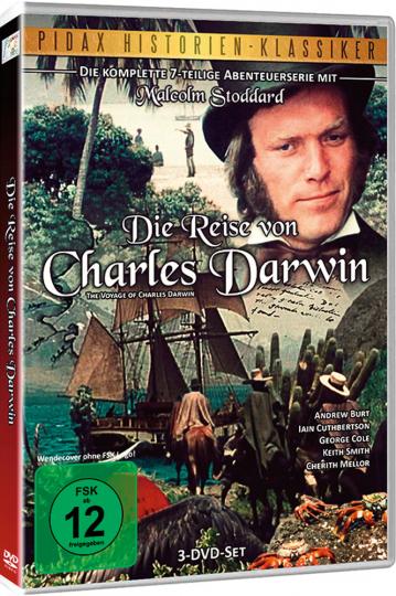 Die Reise von Charles Darwin (Komplett). 3 DVDs.