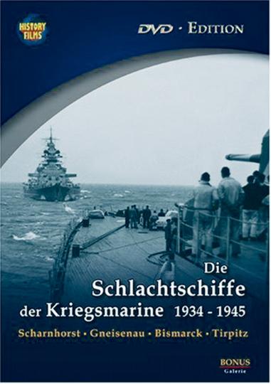 Die Schlachtschiffe der Kriegsmarine DVD