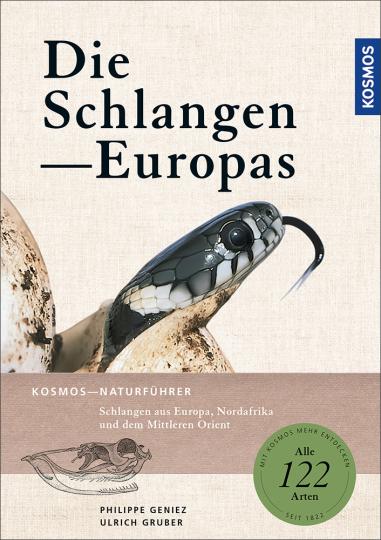 Die Schlangen Europas.