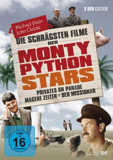 Die schrägsten Filme der Monty Python Stars. 3 DVDs.