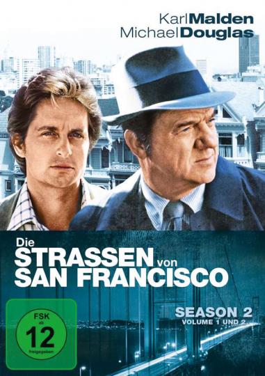 Die Straßen von San Francisco. Season 2. 6 DVDs.