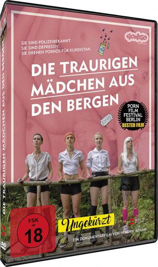 Die traurigen Mädchen aus den Bergen. DVD.
