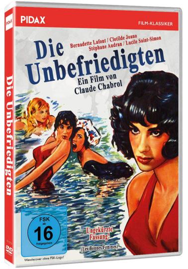Die Unbefriedigten. DVD.