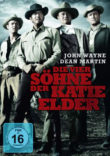 Die vier Söhne der Katie Elder. DVD.