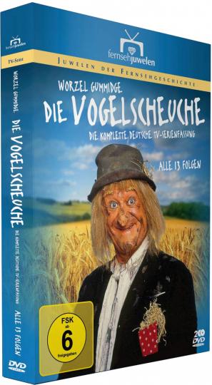 Die Vogelscheuche (Komplette deutsche TV-Serienfassung). DVD.