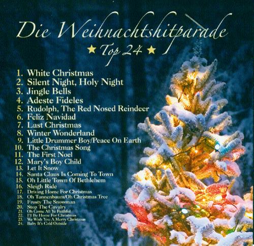 Die Weihnachtshitparade TOP 24  CD