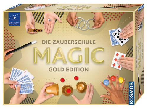 Die Zauberschule Magic Gold Edition.